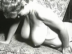 1950, Ass, Big Cock, Blonde, Classic, Double