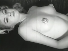Young Babe Hides Her Nipples 1950 porn video