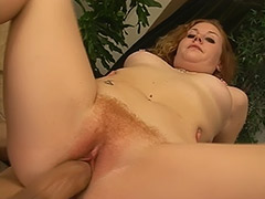 a Fine Hairy Cunt Hardcore Movie Featuring Cherry Poppins and Her Red Haired Hairy Bush