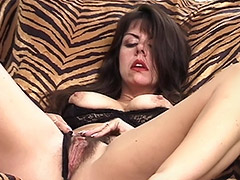 Mature Hairy Pussy and Mouth are Giving Pleasure for a few Male Fuckers porn video