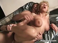 Stepmom, Adorable, Aged, Blonde, Boobs, Cougar