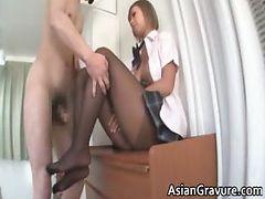 Hot nasty big boobed sexy body asian part2