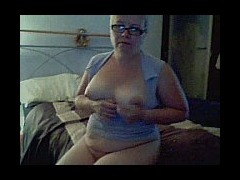 Mature fat blonde masturbating Short haired blonde mature woman gets undressed and puts on a show fo