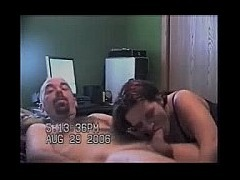 Short haired wife blowjob Short haired mature wife gives an intense blowjob to her bald husband She