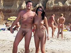 Amateur video nudist beach I shot this mature nudist couple at the nudist beach porn video