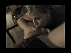 Candy With Cream On It beautiful blonde gives her man an expert blowjob but does she let him cum in