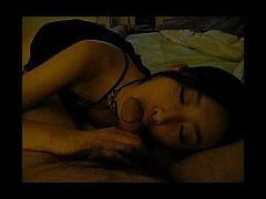 Chinese car model sucking cock Hot Chinese car model girl Shou Shou sucking dick while laying in the