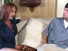 Daughter, Aged, Blowjob, Brunette, Cougar, Cum