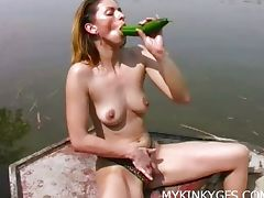 Boat, Asian, Boat, Brunette, Cunt, Horny