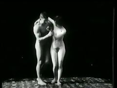 Vintage Erotic Movie 1 Nude Sculptures 1903