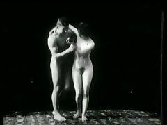 Vintage Erotic Movie 1 Nude Sculptures 1903