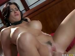 Spanish Pornstar Rebeca Linares Handling a Big Cock With Expertise porn video