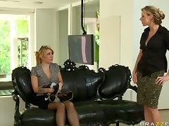 Rough Anal Strapon Experience Between Two Hot Blonde Lesbians