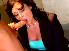 Horny Student banging His Hot Teacher Mrs Sterling