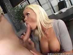 All, Allure, Big Tits, Blonde, Blowjob, Boss