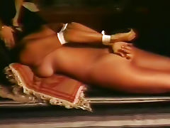 Retro kinky video with bondage