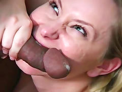 All, Black, Blowjob, Cumshot, Ebony, Facial