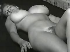 Vintage Porn Clip of a Hot Blonde With Huge Knockers and a Hairy Pussy porn video