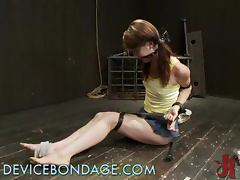 Teen Babe Spends a Night In the Dungeons