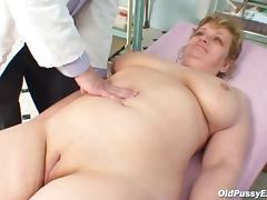 Granny BBW videos. 2 Young Guys Fuck hot Granny plus give Cumshots