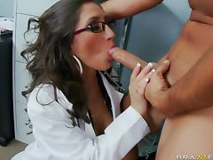 All, Blowjob, Brunette, Heels, Horny, Hospital