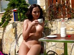 Shaved Pussy, Babe, Beauty, Brunette, Cunt, Erotic