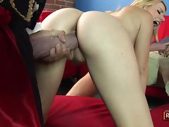 Lexi Belle Enjoys a threesome Fiesta with two Monster Mariachi Cocks