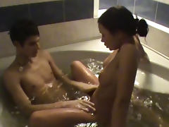 Banging in the bathtub with a teenager