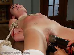 Bondage, BDSM, Big Tits, Bondage, Brunette, Redhead