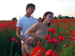 Amazing Teen Outdoor Fuck Scene