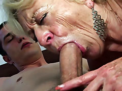 Mother, Aged, Blowjob, Hairy, Mature, Old