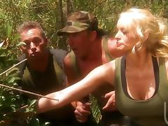 Bitch, Army, Big Tits, Bitch, Blonde, Blowjob