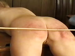 Spanking and caning of naughty schoolgirls