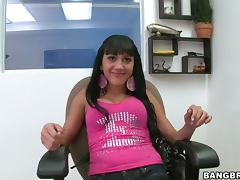 Beautiful Brunette POV Blowjob