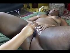 great ebony lesbien scene