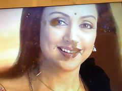 cum and spit tribute to milf HEMA MALINI