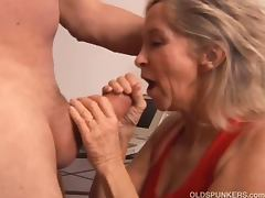 Hot sex for an old couple