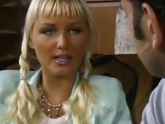 Business lady likes it huge hard and deep