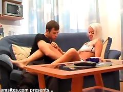 Smoking and sizzling Valya gets fucked rough