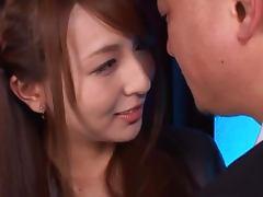 Sexy Jessica Kizaki Rides His Cock To An Orgasm