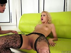 All, Lesbian, Stockings