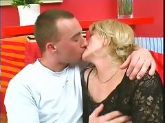 BBW old milf with saggy big boobs has her pussy worked and her titties fucked