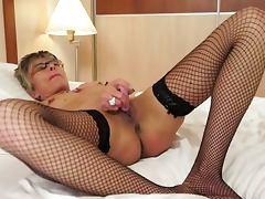 Gizelka sie masturbuje