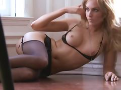 Divine blondie Kate Hughes is so desirable and sexy