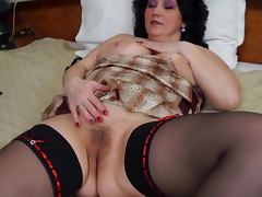 Fat Mature, Masturbation, Mature, Stockings, Fat Mature, Mature BBW