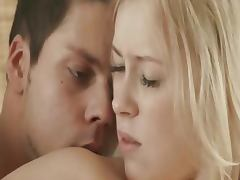 luxury blond making anal in the morning