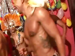 Hot Latino Gay Bareback Sex After The Party