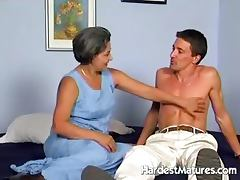 Paula hard fucked and cumhozed