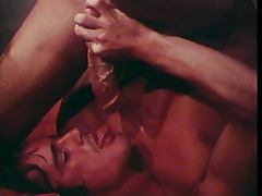Johnny Harden sucks his own cock with self facial