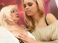 Mom and Girl, Beauty, Cute, Horny, Lesbian, Strapon